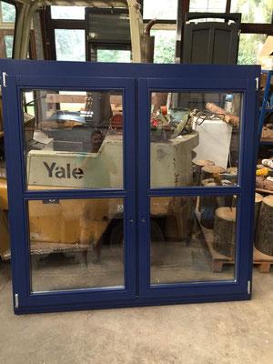 Holzfenster aus eigener Fertigung