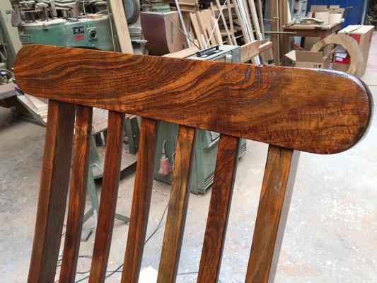 Sitzmöbel aus eigener Fertigung - Detail