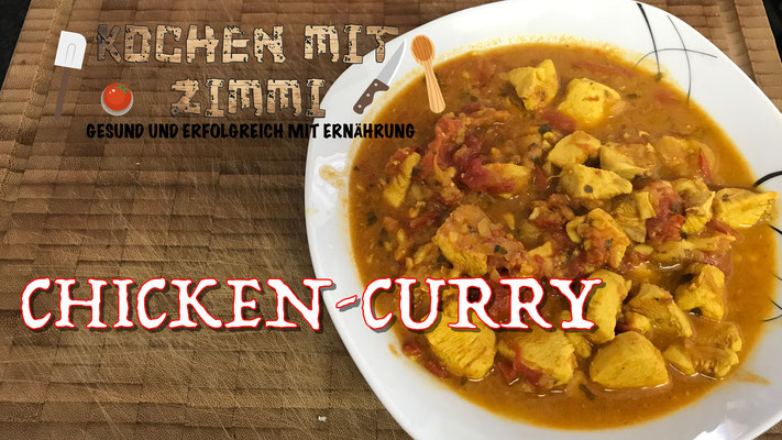 Low Carb Rezept Chicken Curry