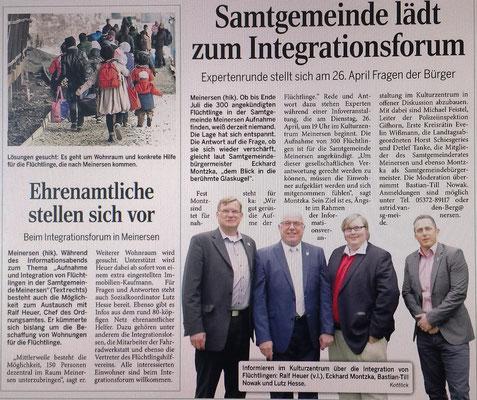Aller-Zeitung vom 19.4.2016