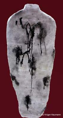 Nagelkleid - Transparente Folie, Nägel, Acryl, 149 cm x 58 cm x 30 cm