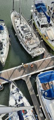 Die Sicht aus dem Mast