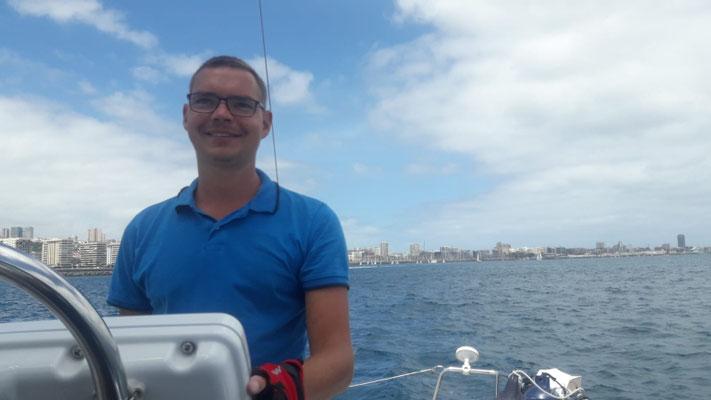 Abfahrt aus Gran Canaria