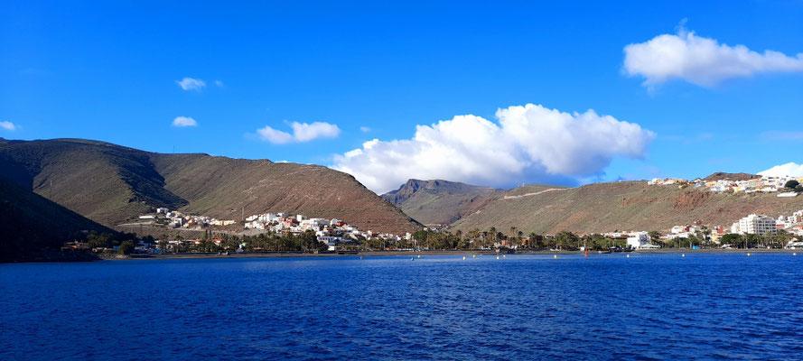 Anfahrt nach La Gomera