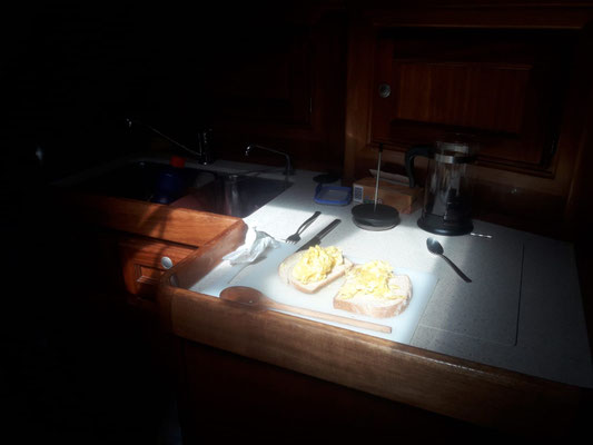 Männer Frühstück