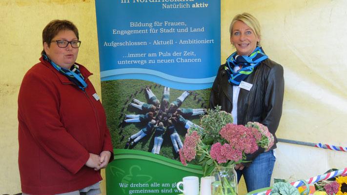 Inke Carstensen-Klatt und Anette Herrig vom KLFV-NF