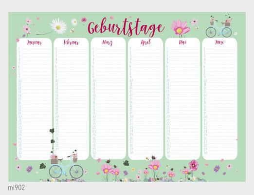 Kalender Fahrrad