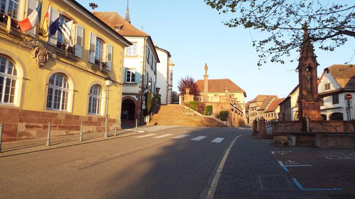 Bischoffsheim...hier habe ich bei meiner Familie übernachtet