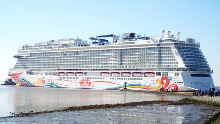 Norwegian Joy | Norwegian Cruise Line (das dritt größte Schiff der Welt!)...