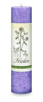 "Allgäuer Heilkräuterkerze ""Frieden"""