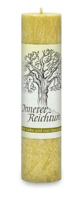 "Allgäuer Heilkräuterkerze ""Innerer Reichtum"""