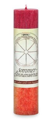 """Allgäuer Heilkräuterkerze """"Sommersonnenwende"""""""