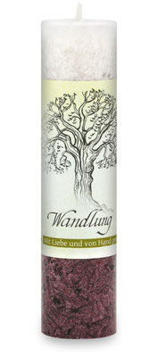 "Allgäuer Heilkräuterkerze ""Wandlung"""