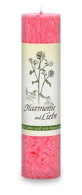 """Allgäuer Heilkräuterkerze """"Harmonie & Liebe"""""""
