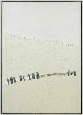 Horizon 4     70x50     [ papiers-métal]