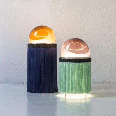 Lampe de table à franges, Purho-1290€