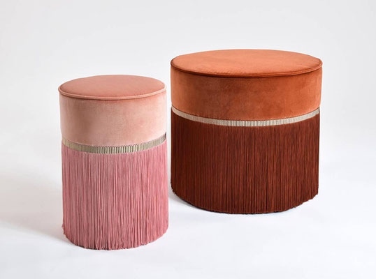 Poufs Couture , Lorrenza Bozzoli design