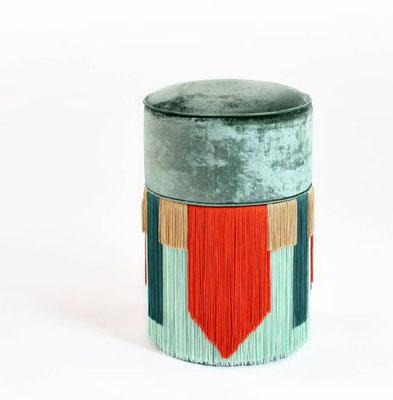 couture pouf collection by Lorenza Bozzoli / Flodeau.com