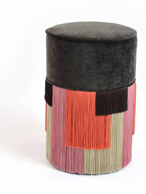 couture pouf collection by Lorenza Bozzoli / Flodeau.com