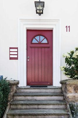 Haustür, seit elf Jahren verbaut