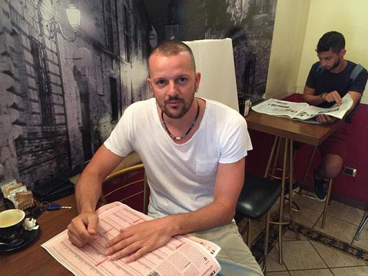 Il presidente della Viola Romolo Di Gregorio, studia il mercato stagione 2015-2016