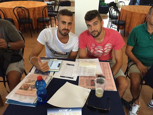 La nuova dirigenza della Lazio calcio prima del marcato della decima 2015-2016