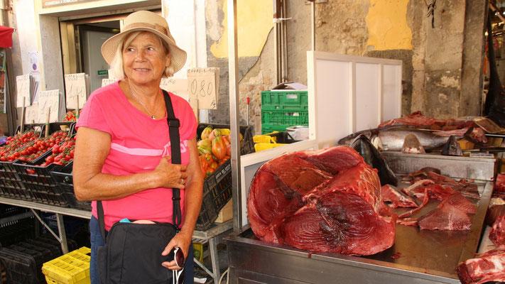 Thunfisch: Er wird immer noch vor der Küste Siziliens  gefangen.
