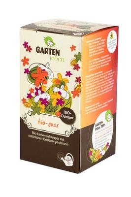 bio Guss ist ein universal Kompost Tee zur Förderung der Pflanzengesundheit. www.the-golden-rabbit.de