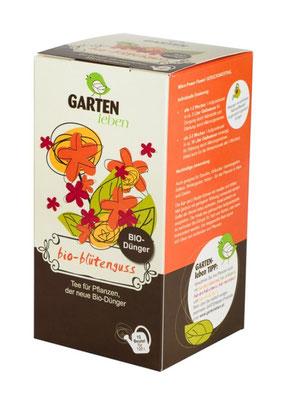 Kompost-Tee: biologische Düngung für reiche Blüte. www.the-golden-rabbit.de
