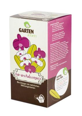 Kompost Tee  für die sanfte Düngung von Orchideen. www.the-golden-rabbit