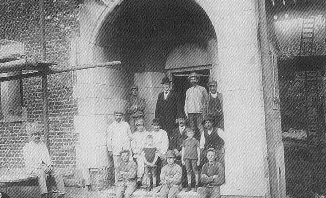Richtfest, 22. Sept. 1913