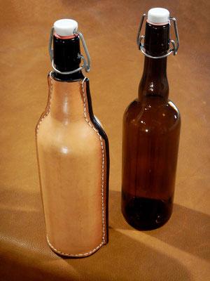 Les bouteilles gainées