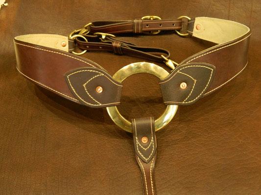 """Collier """"Rancher"""" à anneau de bronze plat"""