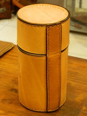 Boîte cylindrique, arrière