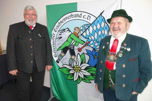 Bayernbund-Landesvorsitzender und komm. Bürgerallianz-Sprecher Sebastian Friesinger und Max Bertl tragen gemeinsam Verantwortung für Bayern