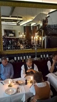 Zum Abschluß ein Mittagessen im Restaurant Machiavelli