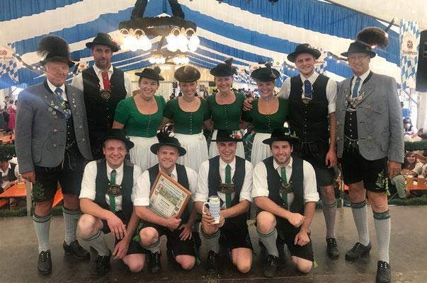 2. Platz: Niklasreuth A (55 Punkte)