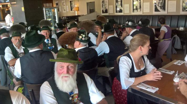 Im Restaurant Die Eins