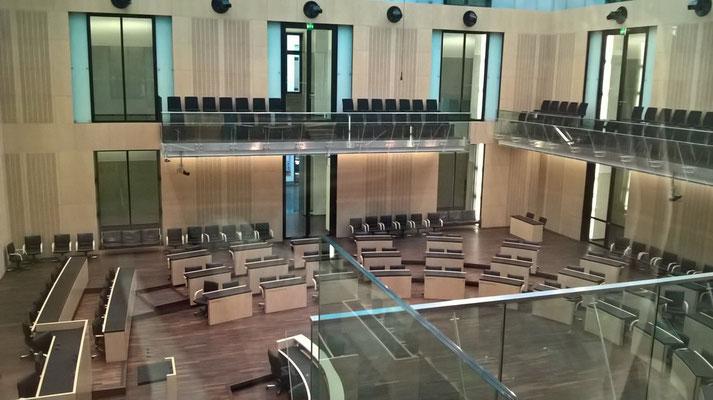 Blick in den Plenarsaal des Bundesrats
