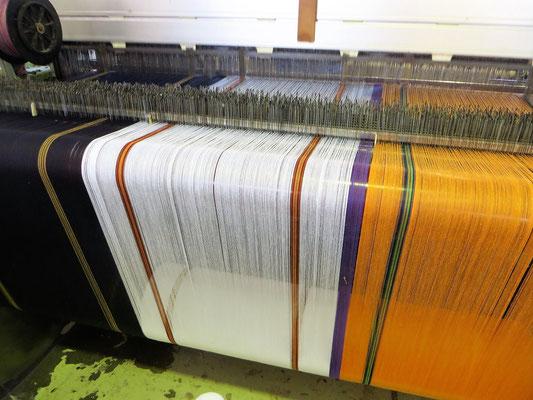 Mungo Boma Cloth beim Weben