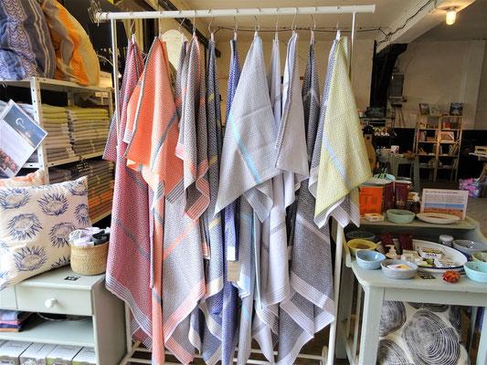 unser Stand mit Mungo Handtücher und Badetücher auf der Ambienta 2019