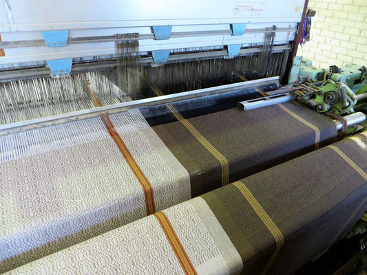 Mungo Boma Cloth auf Dornierwebmaschine