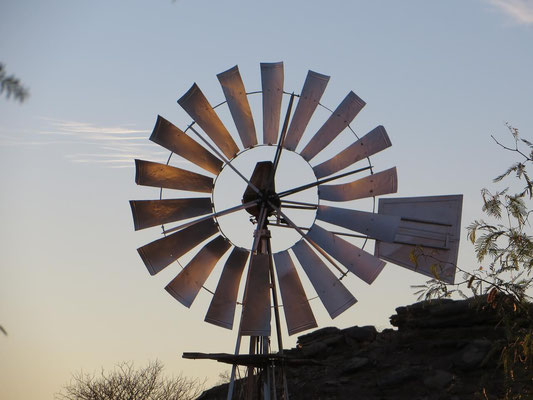 Wind Pump in Namibia 2016