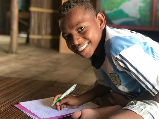 Auch vom Dorf nebenan kommen die Kinder gerne zum Lernen