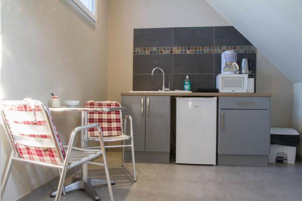 Appartement avec services hoteliers : possibilité d'arriver le frigo plein