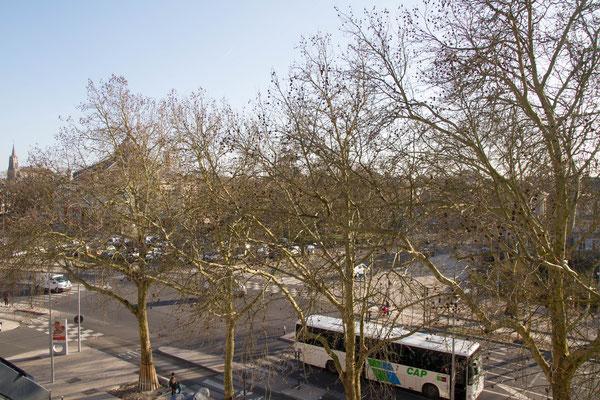 Appartement meublé avec vue sur le boulevard