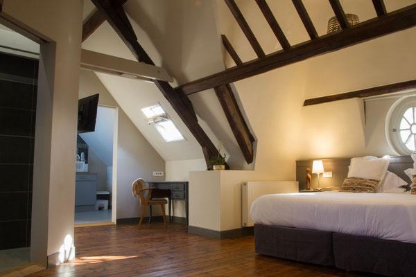 Appartement meublé avec (lit 180x200) ou lits jumeaux sur demande