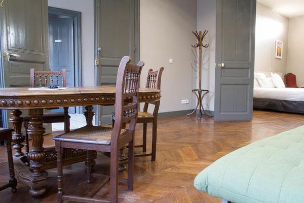 Appartement avec services hôteliers, possibilité d'arriver le frigo plein