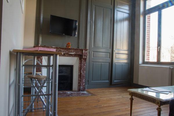 Appartement meublé avec vue sur le jardin