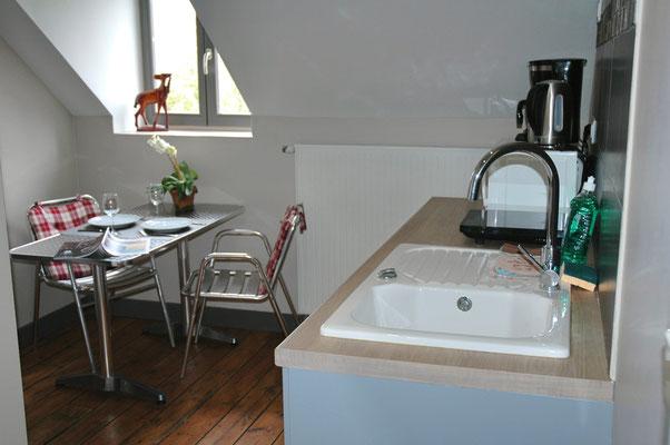 Appart'hotel avec services hôteliers, possibilité d'arriver le frigo plein